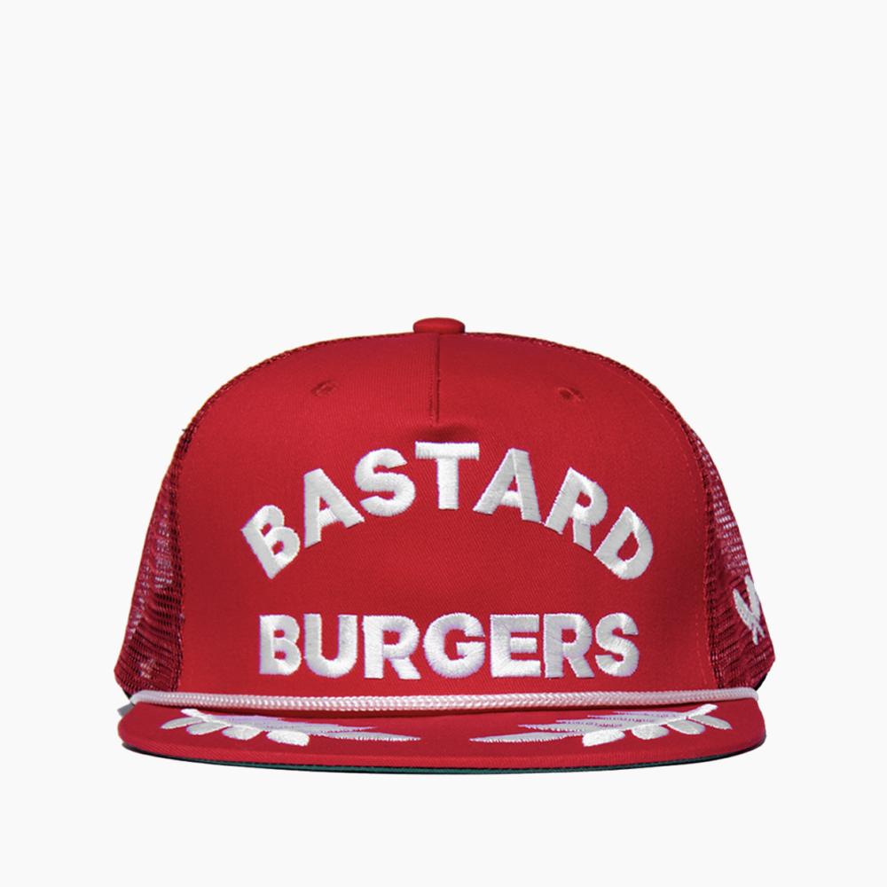 Bastard Burgers Red Trucker Cap