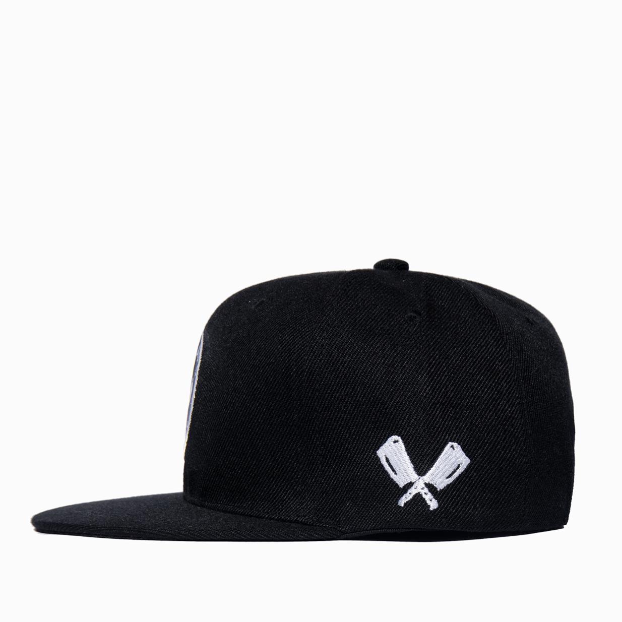 Black Badge Cap Side