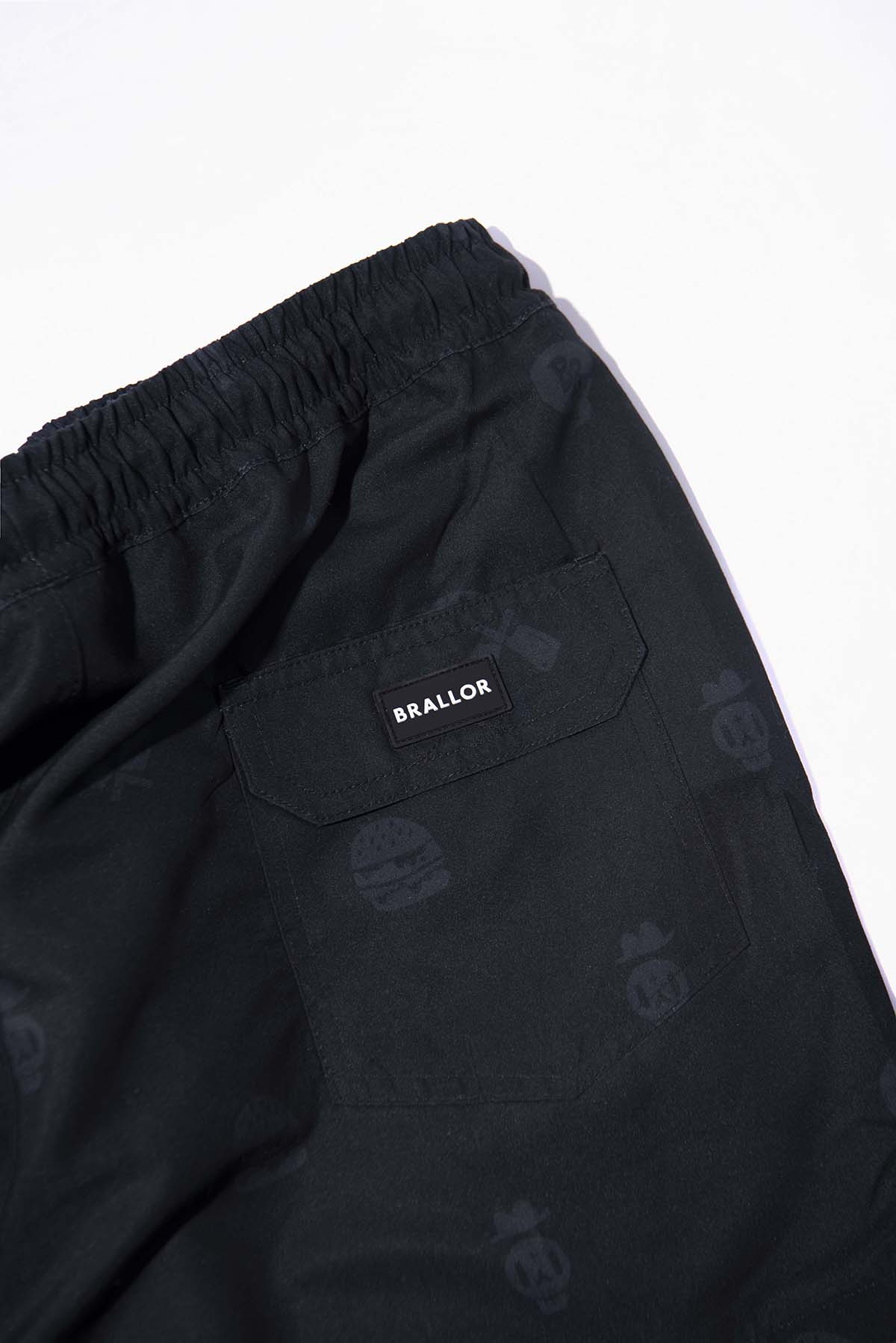 Black Icon Shorts Detail