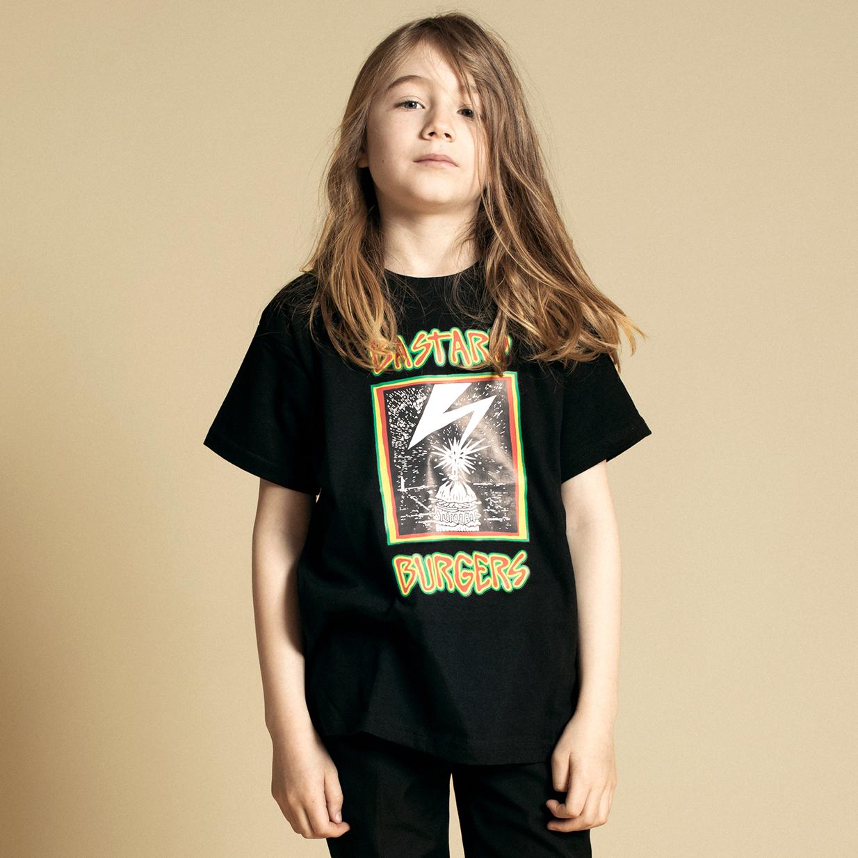Kids BMA Black Tee image 2