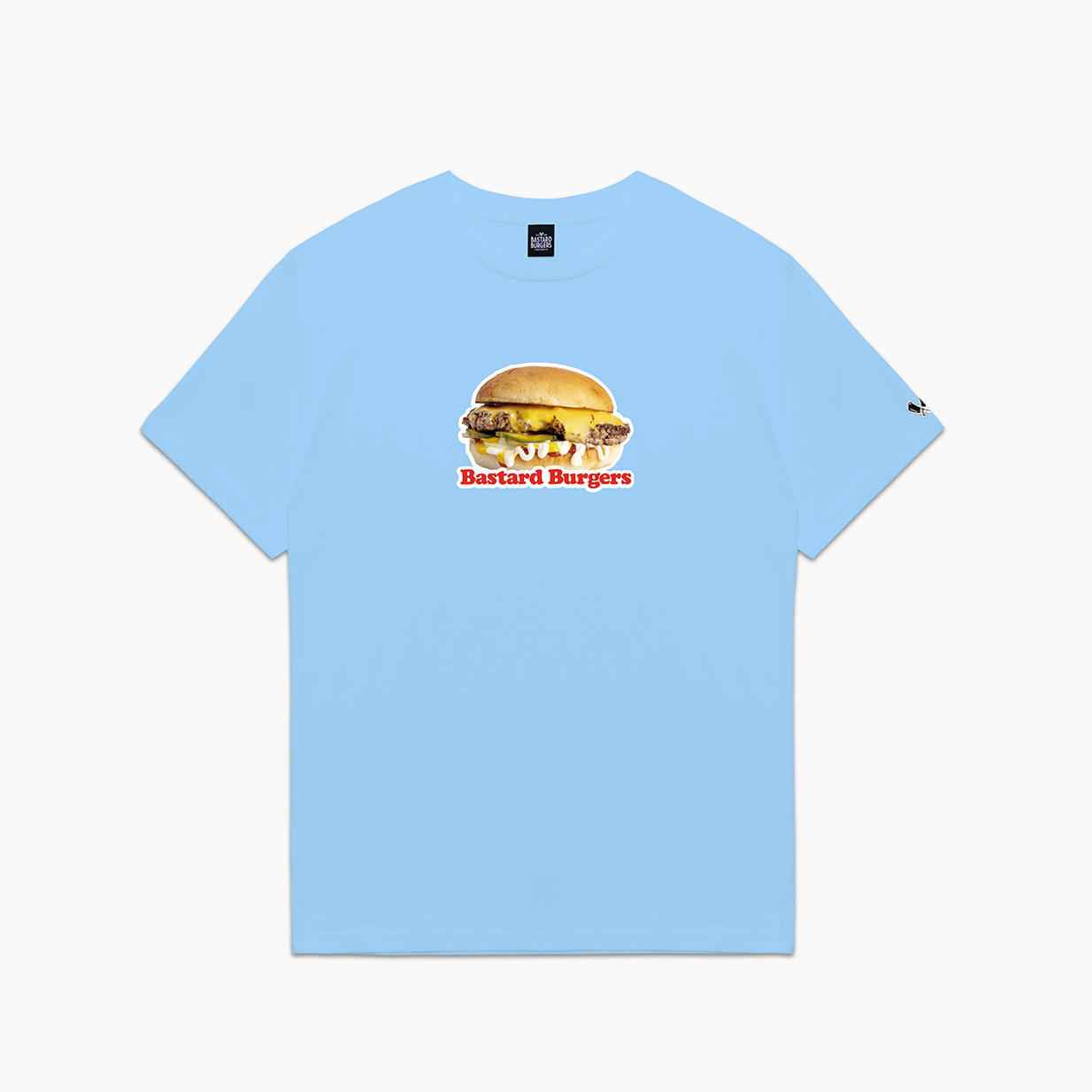 The Burger Light Blue Tee